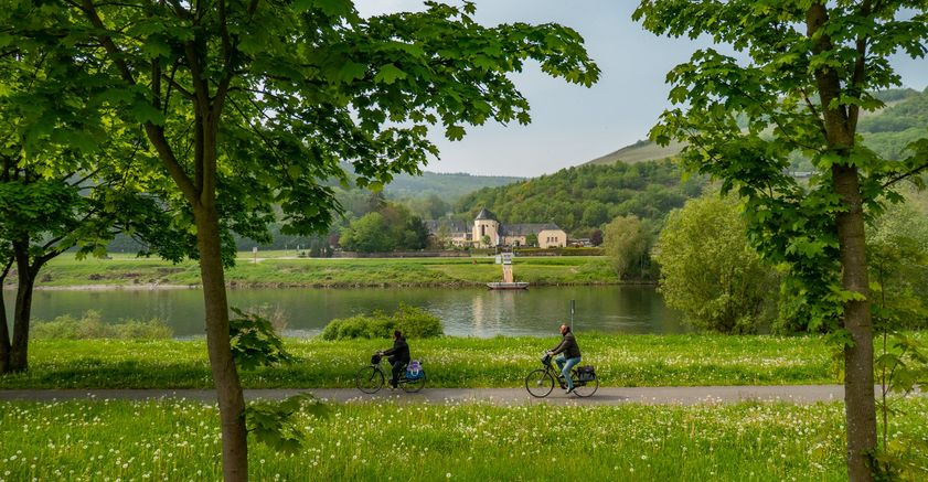 Cycling tour programs Moselle cycle path